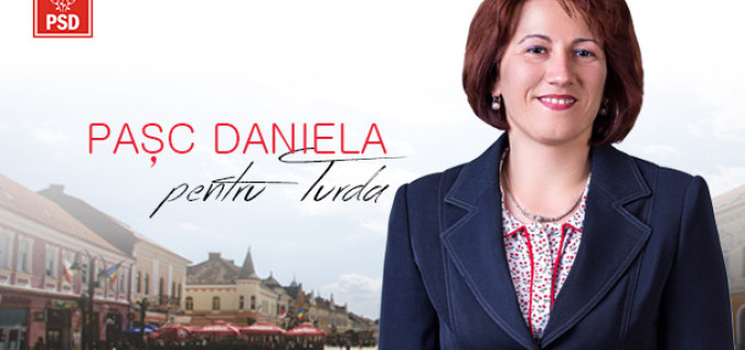 Daniela Pasc, candidat PSD pentru Consiliul Local Turda