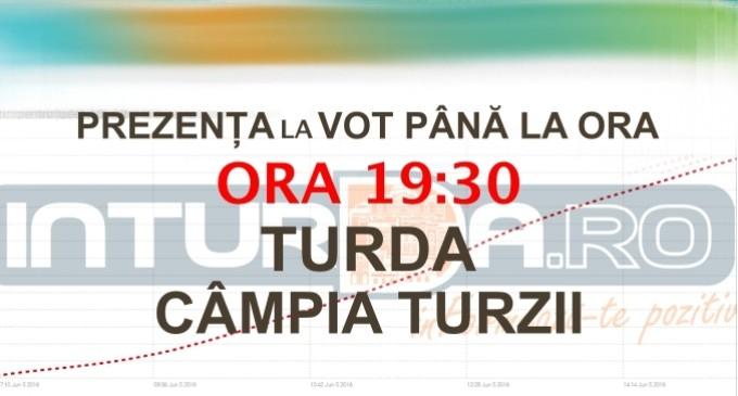 Vezi aici câte persoane au votat la Turda și Câmpia Turzii până la ora 19:30