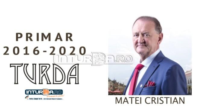 Primarul municipiului Turda, Matei Cristian, va prezenta bilanțul administrației locale la un an de mandat