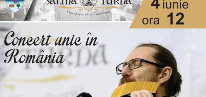 Astăzi, ora 12:00 – Nicolae Voiculeț va concerta la Salina Turda
