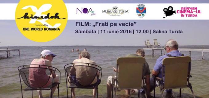 """Sâmbătă, 11 iunie 2016, în Amfiteatrul Salinei Turda, va rula filmul """"Frați pe vecie""""."""