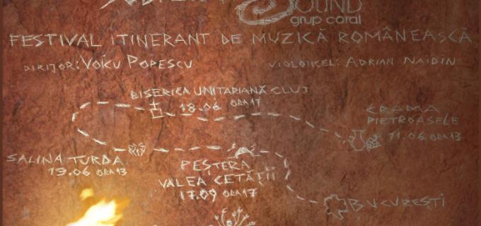 Fundatia Culturala Sound va sustine un concert de muzica corala romaneasca in amfiteatrul minei Rudolf din Salina Turda