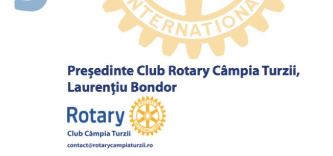 Ceremonie de predare-primire a mandatului de președinte al Clubul Rotary Câmpia Turzii