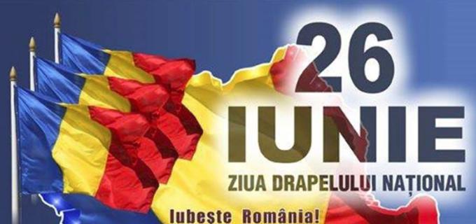 Manifestări cu ocazia Zilei Drapelului Național al României la Câmpia Turzii