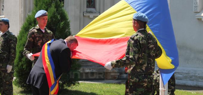 Foto/VIDEO: Ziua Drapelului Național al României la Câmpia Turzii