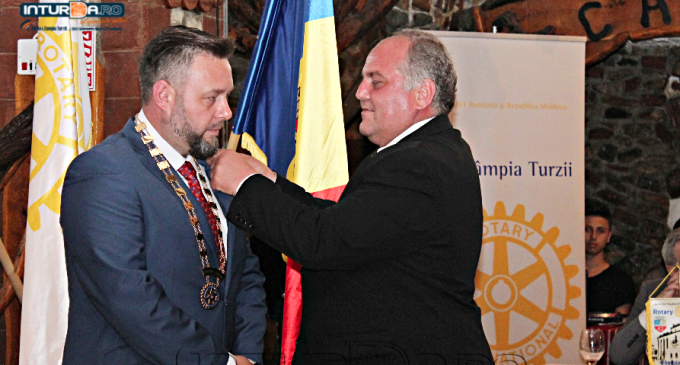 Foto/VIDEO: Doru Chiper, noul Președinte al Clubului Rotary Câmpia Turzii.