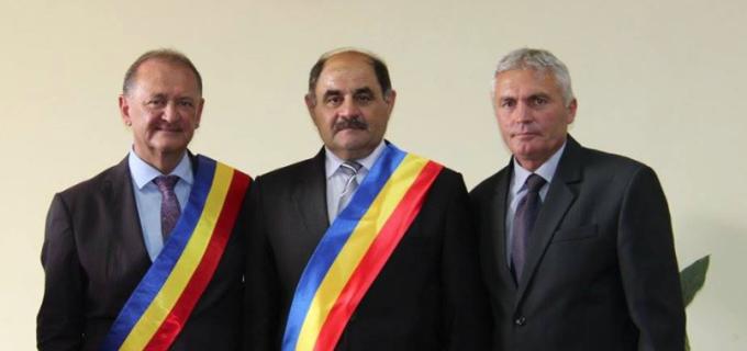 Cristian Matei a paricipat la ședințele de investire a primarilor comunelor Luna și Viișoara