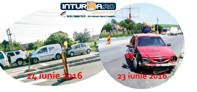 Posibil doar la Tureni: 2 accidente rutiere în mai puțin de 24 de ore! #CNADNR
