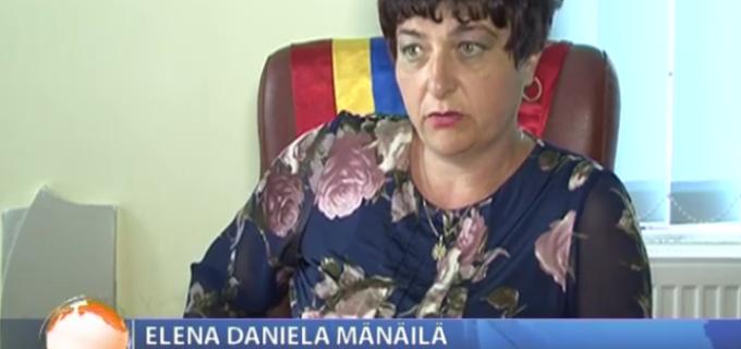 Dana Mănăilă primarul comunei Tureni, protestează public împotriva celor de la CNADNR
