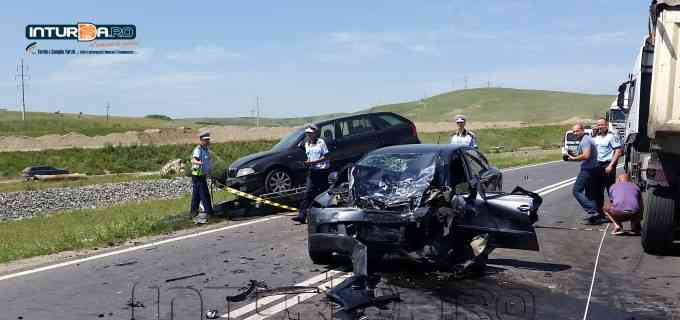 VIDEO: Accident mortal pe DN1 la ieșirea din Turda spre Alba în zona localității Stejeriș