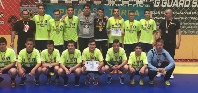 Echipa de Juniori II Potaissa Turda a câștigat medaliile de argint