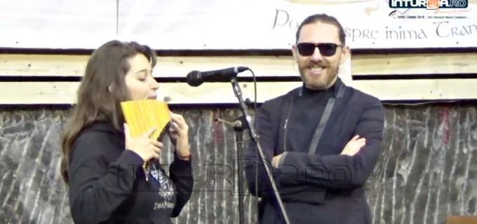 VIDEO: Turdeanca Ramona Dragoste s-a duelat cu Nicolae Voiculeț pe scena Salinei Turda