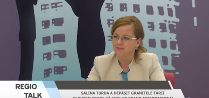 "Maria Simona Baciu la Regio TV, despre ""Salina turdenilor"" și dezvoltare economică în Turda"