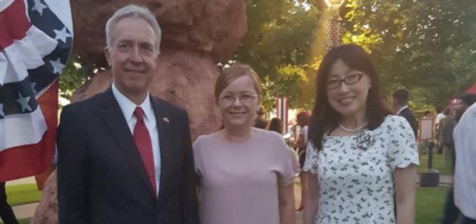 Reprezentanții Salinei Turda au fost invitați la Ambasada SUA cu ocazia Zilei Naționale