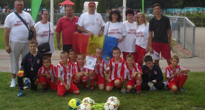 """Clubul """"Potaissa Turda"""" organizează un Turneu Internațional  de fotbal pentru grupele de copii"""