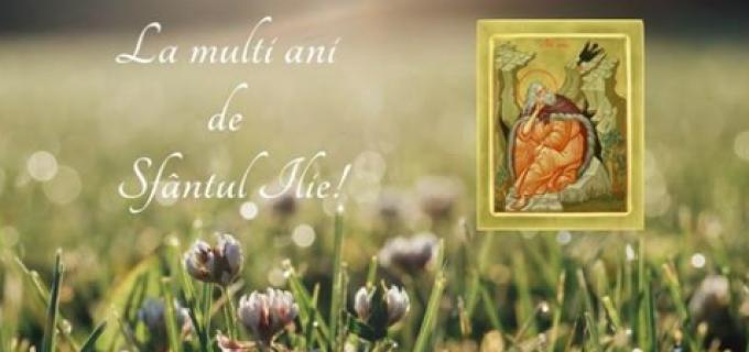 """Cristian Matei: """"La mulți ani tuturor celor care poartă numele Sfântului Ilie!"""""""
