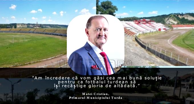 """Veste bună pentru iubitorii de fotbal! Matei Cristian: """"Am încredere că vom găsi cea mai bună soluție pentru ca fotbalul turdean să își recâștige gloria de altădată!"""""""