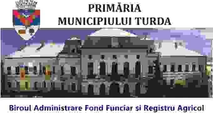Primăria Turda vă stă la dispoziţie în vederea eliberării adeverinţelor de Registru Agricol necesare acordării subvenţiilor aferente anului 2017