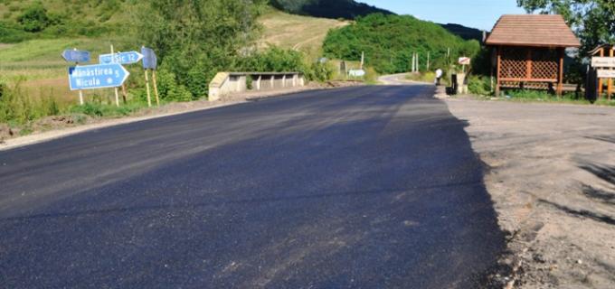 CJ Cluj – Lucrări de întreţinere pe nu mai puțin de 42 de km ai drumului județean DJ 107M