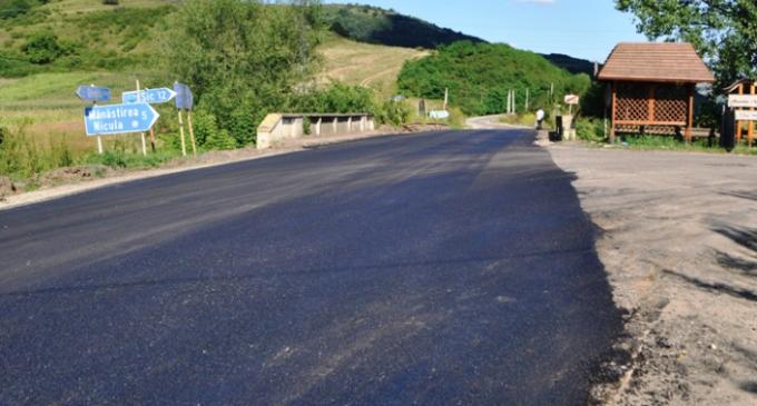Stadiul la zi al lucrărilor derulate de Consiliul Județean Cluj pe drumurile județene
