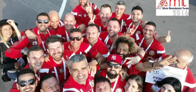 Naționala de fotbal a artiștilor vs. Echipa autorităților locale condusă de Cristian Matei