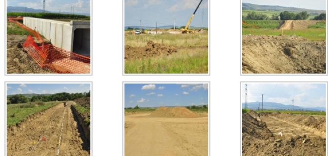 Foto: Autostrada Sebeş-Turda: cum arată începutul lucrărilor pe lotul 1