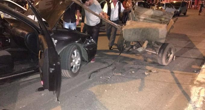 FOTO: Artificiile de la Zilele Câmpiei Turzii au provocat un accident