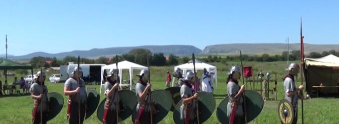 VIDEO: Spectacol VIRTVS ANTIQVA la Castrul Roman Turda