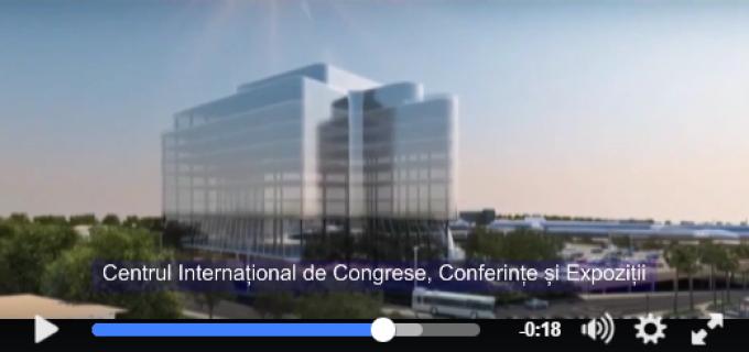 VIDEO: Cel mai mare Centru Internațional de Congrese, Conferințe și Expoziții din ţară se va realiza la Cluj