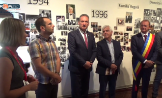 """VIDEO: Expoziția de fotografie """"Ion Rațiu – Un destin pentru România"""", în cadrul ZMT2016"""