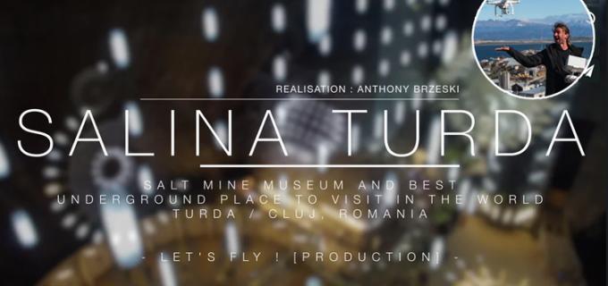 Video: Cum arată cel mai frumos loc subteran din lume, filmat cu drona