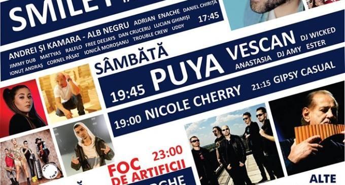 Video: Puya, Vescan și Nicole Cherry te invită la Zilele Municipiului Turda