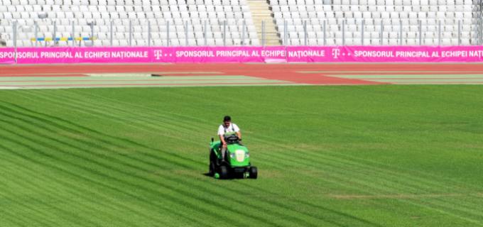 Cluj Arena, pregătit să primească naţionalele de fotbal ale României şi Muntenegrului