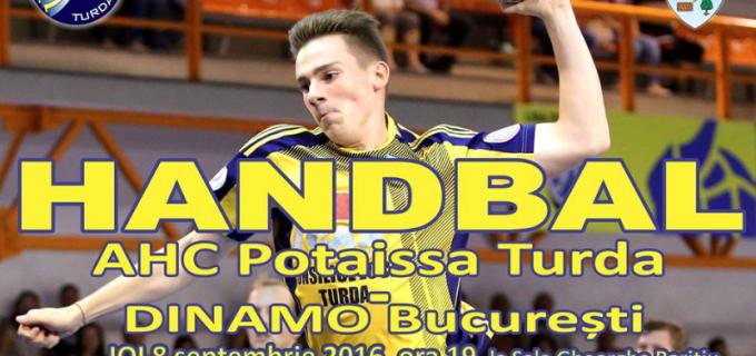 Campioana României vine la Turda. Potaissa Turda vs. Dinamo București la Sala Gheorghe Barițiu