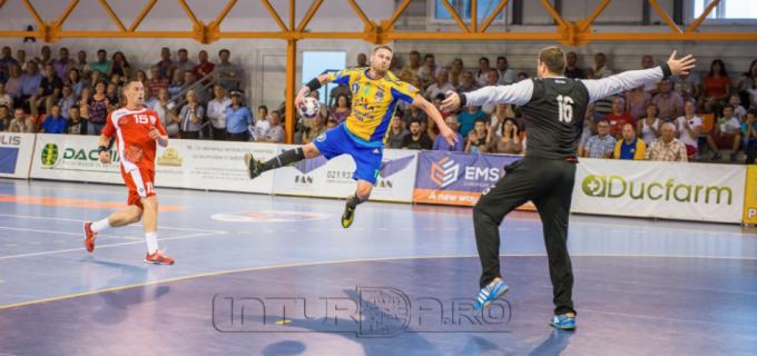 VIDEO: Meci spectaculos între Potaissa Turda și Dinamo București 31-36(19-15)