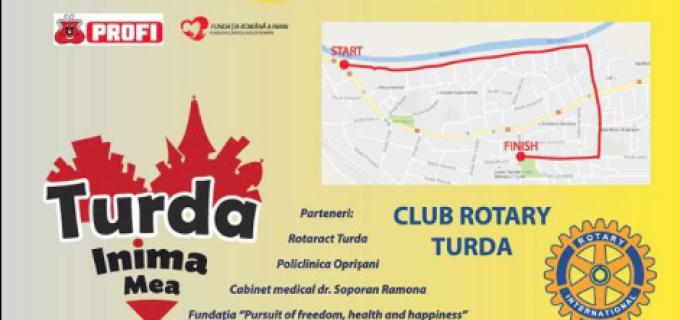 """Clubul Rotary lansează programul """"Promenada Inimilor 2016"""" cu ocazia Zilei Mondiale a Inimii"""