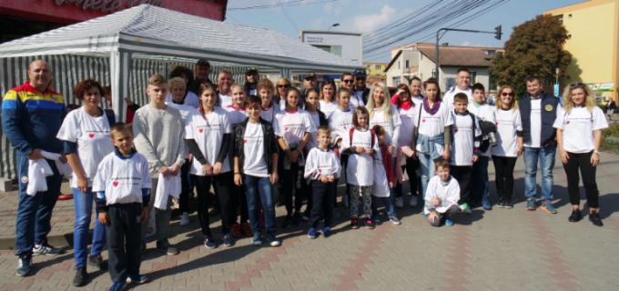 """Clubul Rotary Turda a organizat duminică, 25 septembrie, Programul """"Promenada Inimilor 2016""""  cu ocazia Zilei Mondiale a Inimii"""
