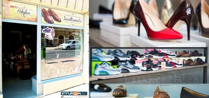 S-a deschis un nou magazin cu încălțăminte la Turda. La ADYLUX găsești încălțăminte pentru toate vârstele!