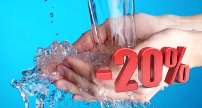 Cota de facturare a apei uzate se va reduce cu 20% până la sfârșitul anului 2016