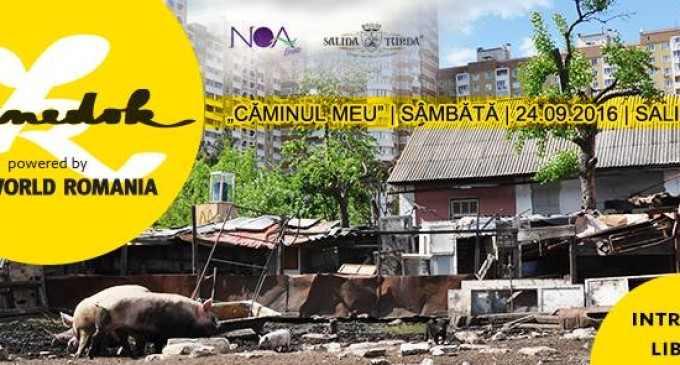 """NOA Events și Salina Turda proiectează mâine filmul """"Căminul meu"""""""