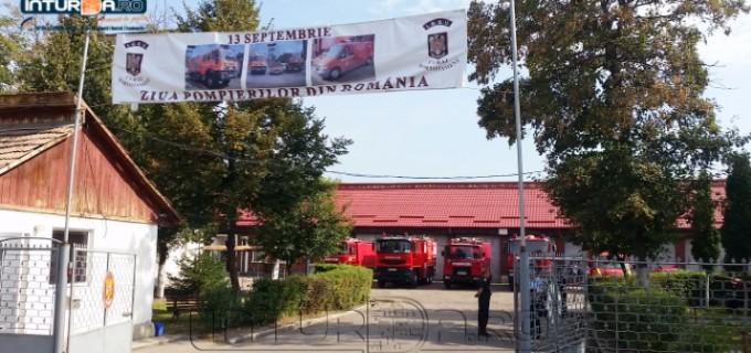 Porți deschise la Detașamentul de Pompieri Turda. Vezi aici semnificația zilei de 13 septembrie – Ziua pompierilor români