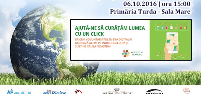 """Masă rotundă în Sala Mare a Primariei Turda. Se lansează aplicația ,,Let's Do It, Turda!"""""""