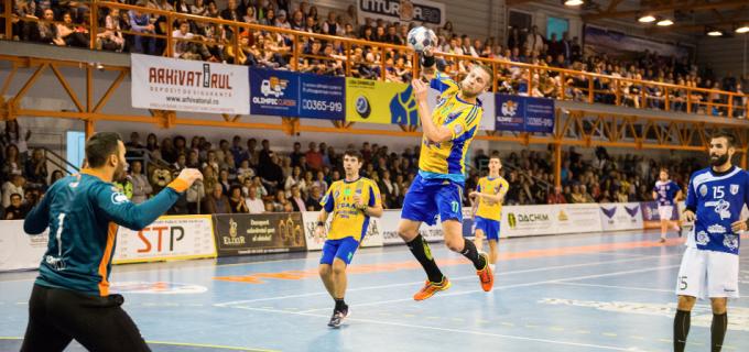 Potaissa TURDA s-a impus în fața celor de la CSM București (28-27) în primul meci din semifinalele Ligii Naționale de Handbal Masculin