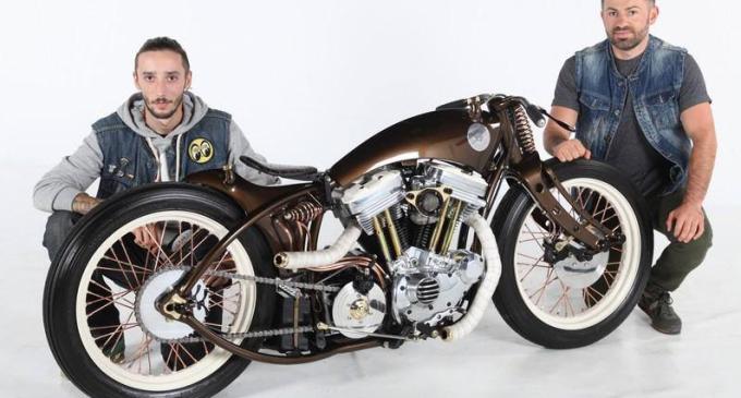 Dorin Racz, locul 6 la Campionatul Mondial al constructorilor de motocilete custom