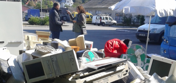 Peste 6 tone de de echipamente electrice și electrocasnice au fost colectate în cadrul acțiunii ,,Marea debarasare''