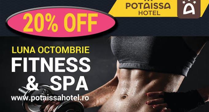 Hotel Potaissa – Reduceri de 20% la orice tip de abonament Fitness & SPA