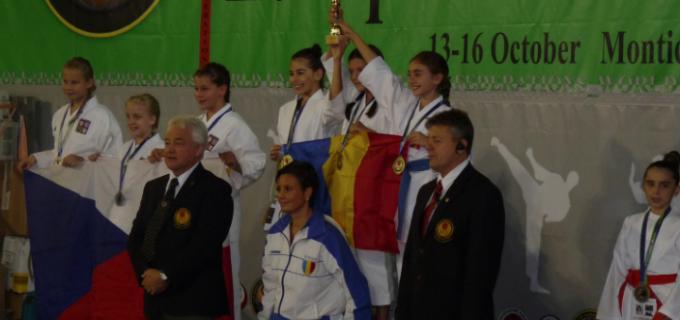 3 titluri europene obtinute de Karate Club Turda!