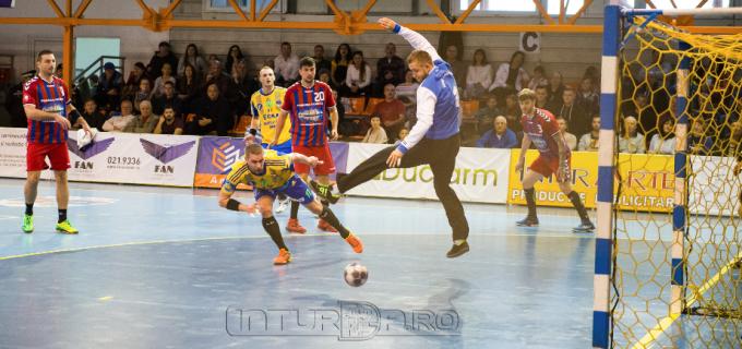 FOTO: A 6-a victorie în Liga Zimbrilor pentru turdeni. Potaissa Turda – CSM Făgăraș 29-24 (14-11).