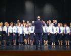 """Concertul Coral """"Armonii de Toamnă"""" care a avut loc ieri, 25 octombrie 2016, în sala mare a Teatrului """"Aureliu Manea"""", s-a bucurat de un public numeros."""