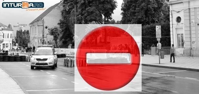 Închiderea circulației în zona centrală a municipiului Turda în data de 09.05.2019